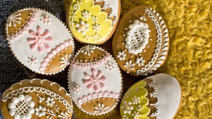 Biscuits ayurvédiques de Pâques, sans chocolat