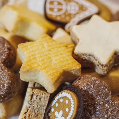 Sablés au chocolat, ayurvédiques, sans gluten, sans lactose et à indexe glycémique bas