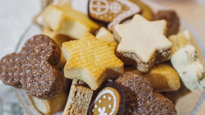 Sablés au chocolat, sans gluten, sans lactose et à indice glycémique bas
